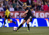 Hannah Wilkinson. The USWNT tied New Zealand, 1-1, at an international friendly at Crew Stadium in Columbus, OH.
