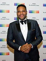 Actor Anthony Anderson arrives for the formal Artist's Dinner honoring the recipients of the 40th Annual Kennedy Center Honors hosted by United States Secretary of State Rex Tillerson at the US Department of State in Washington, D.C. on Saturday, December 2, 2017. The 2017 honorees are: American dancer and choreographer Carmen de Lavallade; Cuban American singer-songwriter and actress Gloria Estefan; American hip hop artist and entertainment icon LL COOL J; American television writer and producer Norman Lear; and American musician and record producer Lionel Richie.  <br /> Credit: Ron Sachs / Pool via CNP /MediaPunch