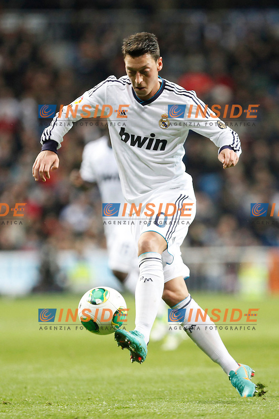 Real Madrid vs Valencia during Spanish King's Cup match, in the pic: Mesut Özil. January 15, 2013. (ALTERPHOTOS/Caro Marin) .Madrid 15/1/2013.Real Madrid Vs Valencia.Football Calcio 2012/2013.Coppa Del Re - King's Cup Spagna.Foto Alterphotos / Insidefoto .ITALY ONLY