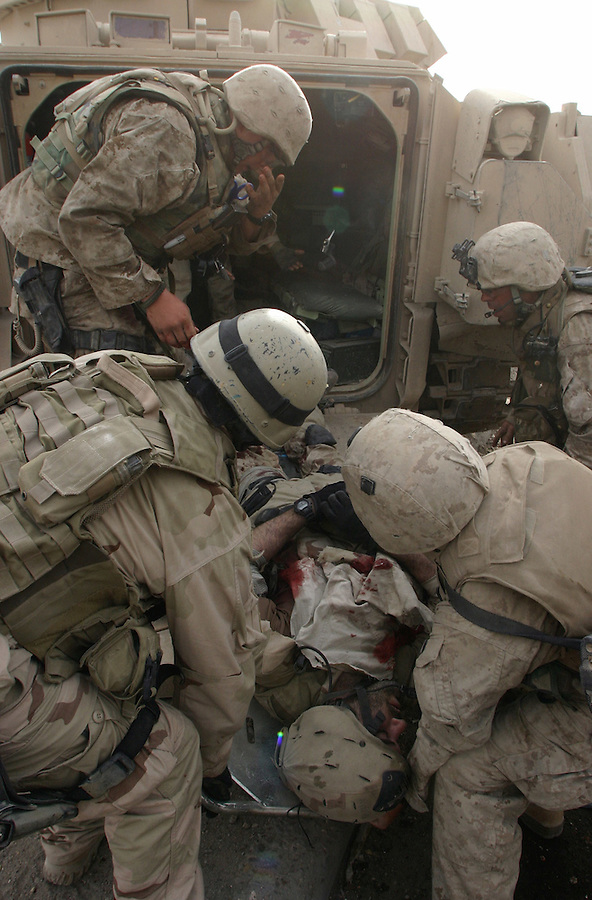 A look at the wounded in the Iraq War.