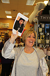 "Fan dressed as The Bold and The Beautiful Don Diamont signed his book ""My Seven Sons and How We Raised Each Other""  - They only drive me crazy 30% of the time - for fans after a Q and A on May 31, 2018 at Books & Greetings in Northvale, New Jersey.  (Photo by Sue Coflin/Max Photo)"