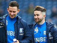 Preston North End's Sean Maguire and Alan Browne take their place on the bench<br /> <br /> Photographer Alex Dodd/CameraSport<br /> <br /> The Emirates FA Cup Third Round - Preston North End v Doncaster Rovers - Sunday 6th January 2019 - Deepdale Stadium - Preston<br />  <br /> World Copyright &copy; 2019 CameraSport. All rights reserved. 43 Linden Ave. Countesthorpe. Leicester. England. LE8 5PG - Tel: +44 (0) 116 277 4147 - admin@camerasport.com - www.camerasport.com