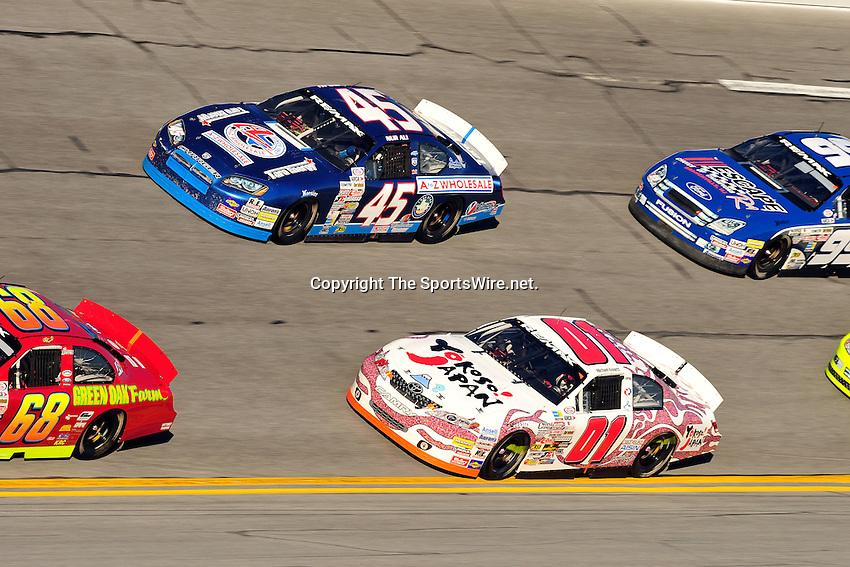 Feb 7, 2009; 4:47:35 PM; Daytona Beach, FL, USA; ARCA Remax Series Event 1 for the Lucas Oil Slick Mist 200 at Daytona International Speedway.  Mandatory Credit: (thesportswire.net)