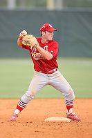 April 14, 2009:  Second Baseman Brett Lilley of the St. Louis Cardinals extended spring training team during a game at Roger Dean Stadium Training Complex in Jupiter, FL.  Photo by:  Mike Janes/Four Seam Images