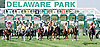 breaking from the gate at Delaware Park on 8/5/14