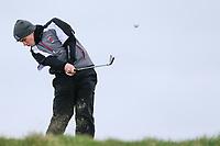 Jack Madden (Royal Portrush) during the QF matchplay at the 2018 West of Ireland, in Co Sligo Golf Club, Rosses Point, Sligo, Co Sligo, Ireland. 02/04/2018.<br /> Picture: Golffile | Fran Caffrey<br /> <br /> <br /> All photo usage must carry mandatory copyright credit (&copy; Golffile | Fran Caffrey)