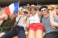 Fans, 2019 HSBC World Sevens Series Hamilton at FMG Stadium in Hamilton, New Zealand on Saturday, 26 January 2019. Photo: Kerry Marshall / lintottphoto.co.nz
