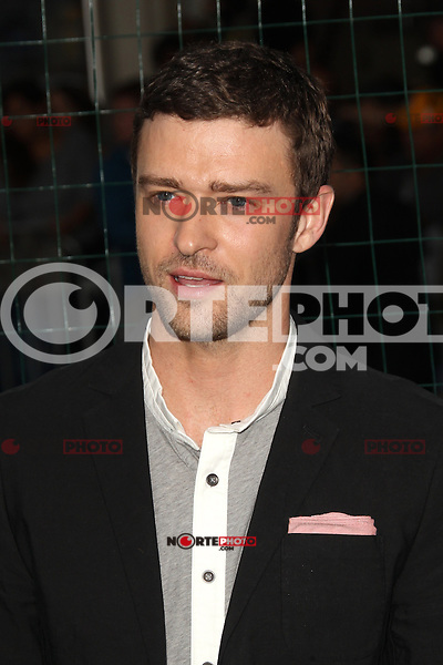 WESTWOOD, CA - SEPTEMBER 19: Justin Timberlake at Warner Bros. Pictures' 'Trouble With The Curve' premiere at Regency Village Theatre on September 19, 2012 in Westwood, California. &copy;&nbsp;mpi28/MediaPunch Inc. /NortePhoto<br /> <br /> **Solo*venta*en*Mexico*<br /> <br /> **CREDITO*OBLIGATORIO** *No*Venta*A*Terceros*<br /> *No*Sale*So*third*...