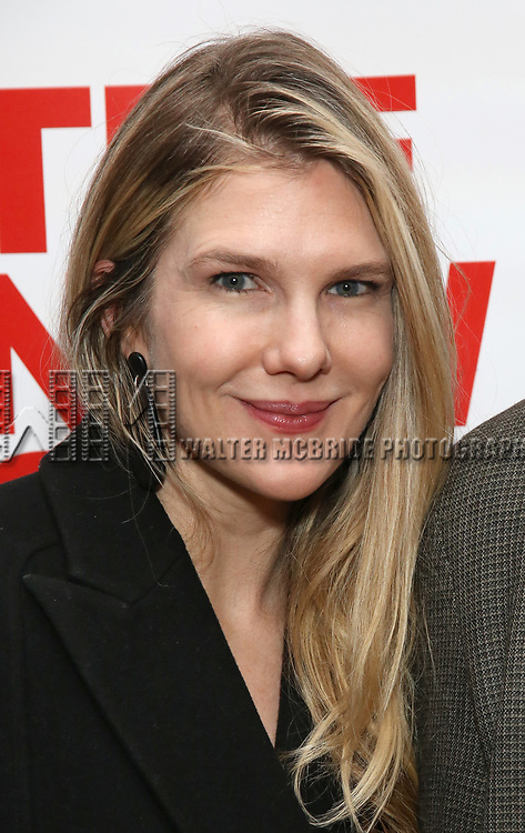 """Lily Rabe attends The New Group presents the New York Premiere Opening Night of David Rabe's for """"Good for Otto"""" on March 8, 2018 at the Green Fig Urban Eatery,  in New York City."""