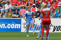 Bridgeview, IL - Saturday June 17, 2017: Lauren Kaskie during a regular season National Women's Soccer League (NWSL) match between the Chicago Red Stars and the Washington Spirit at Toyota Park. The match ended in a 1-1 tie.