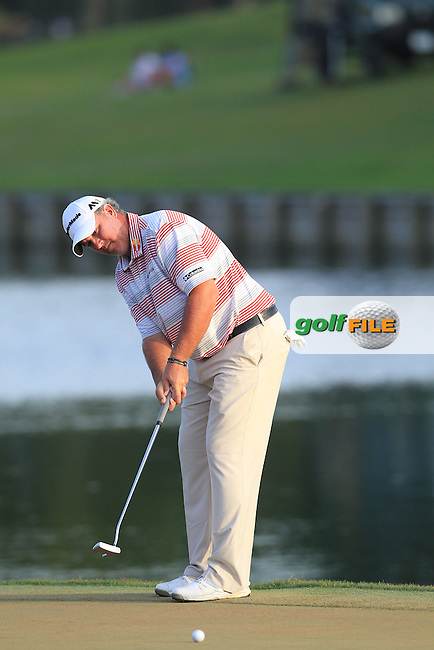 Boo Weekley (USA) during the Third Round of The Players, TPC Sawgrass, Ponte Vedra Beach, Jacksonville.   Florida, USA. 14/05/2016.<br /> Picture: Golffile | Mark Davison<br /> <br /> <br /> All photo usage must carry mandatory copyright credit (&copy; Golffile | Mark Davison)