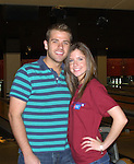 Scott Evans & Brittany Underwood at the 2009 Daytime Stars and Strikes to benefit the American Cancer Society to benefit the American Cancer Society on October 11, 2009 at the Port Authority Leisure Lanes, New York City, New York. (Photo by Sue Coflin/Max Photos)