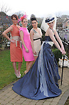 26-02-12:  Models from the Norma O'Donoghue Agency, Victoria Tynan, right, with Mags Kelleher, Joanne O'Connor and Jennifer Lenihan  at the  'UNVEILED' wedding showcase and catwalk show at Killarney's Dromhall Hotel on Sunday.   Picture: Eamonn Keogh (MacMonagle, Killarney)
