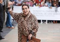 Actress Terele Pavez arriving Maria Cristina hotel during the 61 San Sebastian Film Festival, in San Sebastian, Spain. September 21, 2013. (ALTERPHOTOS/Victor Blanco) /NortePhoto