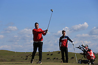 Will Farley during Round Two of the West of England Championship 2016, at Royal North Devon Golf Club, Westward Ho!, Devon  23/04/2016. Picture: Golffile | David Lloyd<br /> <br /> All photos usage must carry mandatory copyright credit (&copy; Golffile | David Lloyd)