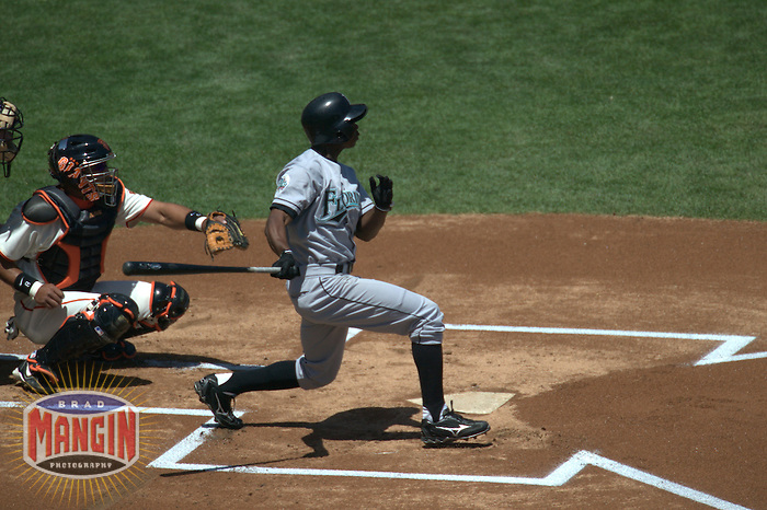 Juan Pierre. Florida Marlins vs San Francisco Giants. San Francisco, CA 5/2/2004 MANDATORY CREDIT: Brad Mangin
