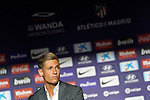 Atletico de Madrid's new player Marcos Llorente during his official presentation. June 28, 2019. (ALTERPHOTOS/Acero)
