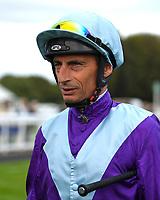 Jockey Gerald Mosse during Evening Racing at Salisbury Racecourse on 3rd September 2019