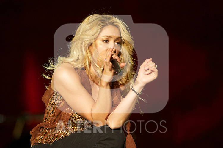Colombian singer Shakira performs on stage during Rock in Rio Festival on June 5, 2010 in Arganda del Rey, Spain....Photo: Billy Chappel / ALFAQUI