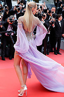 Natasha Poly attends the screening of 'Blackkklansman' during the 71st annual Cannes Film Festival at Palais des Festivals on May 14, 2018 in Cannes, France. <br /> CAP/GOL<br /> &copy;GOL/Capital Pictures