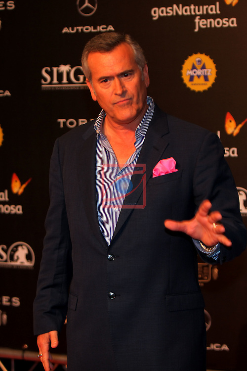 49 Festival Internacional de Cinema Fantastic de Catalunya-Sitges 2016.<br /> Red Carpet Gala Clausura.<br /> Bruce Campbell.