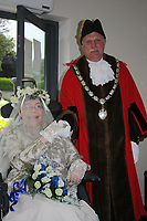 2020 06 16 Former mayor for Pembroke Dock Peter Kraus, Pembrokshire, Wales, UK