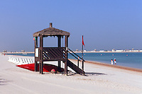 Vereinigte arabische Emirate (VAE, UAE), Dubai, Strand des Jebel Ali Golf Resort + Spa