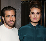 "Jake Gyllenhaal and director Carrie Cracknell during ""Sea Wall/A Life"" Cast Photo Call at Dream Hotel on June 5, 2019 in New York City."