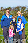 BEST: Wishing Cathal McLoughlin of Tralee Harriers all the best in the Kerry AAI uneven Cross Country in Kilmoley on Sunday were his family they were: Grace, Alan, Seasmus and Helen McLoughlin............. ............................................................   Copyright Kerry's Eye 2008