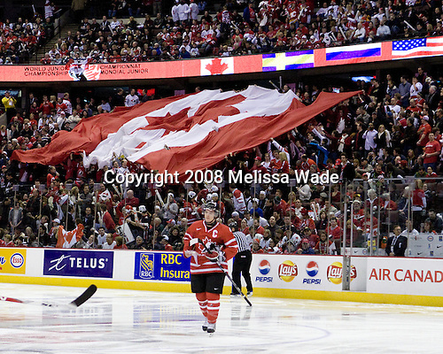 Canada defeated the US 7-4 on Wednesday, December 31, 2008, at Scotiabank Place in Kanata (Ottawa), Ontario during the 2009 World Junior Championship.