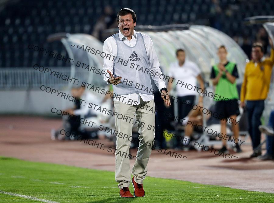 Fudbal Kup Srbije Season 2017-2018 Polufinale Semifinal Match Two<br /> Partizan v Cukaricki<br /> Head coach Nenad Lalatovic<br /> Beograd, 14.04.2018.<br /> foto: Srdjan Stevanovic/Starsportphoto &copy;