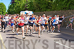 Runners setting the pace at the start of the Killarney Lions club mini marathon in Killarney on Sunday