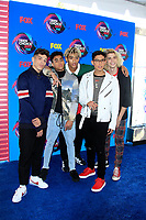 LOS ANGELES - AUG 13:  PrettyMuch at the Teen Choice Awards 2017 at the Galen Center on August 13, 2017 in Los Angeles, CA