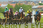 Action at the Listowel Races on Sunday afternoon.