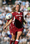 Texas A&M's Madison Klovstad on Saturday, November 25th, 2006 at Fetzer Field in Chapel Hill, North Carolina. The University of North Carolina Tarheels defeated the Texas A&M Aggies 3-2 in an NCAA Division I Women's Soccer Championship quarterfinal game.