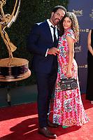 PASADENA - APR 30: Kristoff St. John at the 44th Daytime Emmy Awards at the Pasadena Civic Center on April 30, 2017 in Pasadena, California
