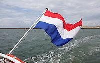 Nederland -  IJmuiden - 2019.    Nederlandse vlag . Foto Berlinda van Dam / Hollandse Hoogte