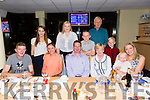 Kieran Flynn, Spa Tralee, celebrating his 40th Birthday with family at the Kingdom Greyhound stadium on Tuesday