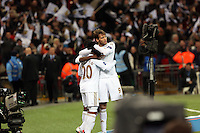 Pictured: Jonathan de Guzman (L), Michu (R). Sunday 24 February 2013<br />