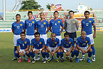 Players of Malaysia Team line up and pose for a photo prior to their AFF Suzuki Cup 2008 Group B match between Malaysia and Vietnam at Surakul Stadium on 08 December 2008, in Phuket, Thailand. Photo by Stringer / Lagardere Sports