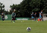 SÃO PAULO,SP, 10.03.2016 - FUTEBOL-PALMEIRAS - Jogadores durante treino na Academia de Futebol na Barra Funda zona oeste de São Paulo na tarde desta quinta-feira (10). (Foto: Marcio Ribeiro / Brazil Photo Press)