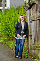 Allison Evanow pictures: Executive portrait photography of Allison Evanow of Square One Vodka by San Francisco corporate photographer Eric Millette