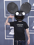 Deadmau5 attends The 54th Annual GRAMMY Awards held at The Staples Center in Los Angeles, California on February 12,2012                                                                               © 2012 DVS / Hollywood Press Agency