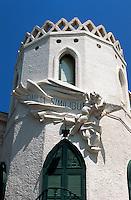 Italien, Ischia, Gebäude in Forio