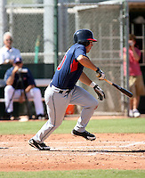Adam White / Cleveland Indians 2008 Instructional League..Photo by:  Bill Mitchell/Four Seam Images
