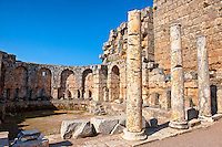 Roman Southern baths of Perge (Perga) archaeological site, Turkey
