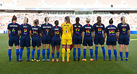 Sandy, Utah - Thursday June 07, 2018: USWNT starting eleven vs China PR during an international friendly match between the women's national teams of the United States (USA) and China PR (CHN) at Rio Tinto Stadium.
