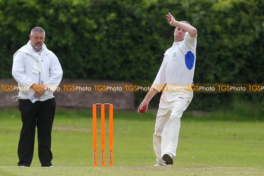 Noak Hill Taverners CC vs Ilford Lions CC - Essex County Cricket League at Church Lane - 08/06/13 - MANDATORY CREDIT: Gavin Ellis/TGSPHOTO - Self billing applies where appropriate - 0845 094 6026 - contact@tgsphoto.co.uk - NO UNPAID USE