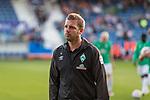 12.10.2018, Stadion an der Bremen Bruecke, Osnabrueck, GER, FSP, 1.FBL, VfL Osnabrueck vs Werder Bremen<br /> <br /> DFL REGULATIONS PROHIBIT ANY USE OF PHOTOGRAPHS AS IMAGE SEQUENCES AND/OR QUASI-VIDEO.<br /> <br /> im Bild / picture shows<br /> Florian Kohfeldt (Trainer SV Werder Bremen), <br /> <br /> Foto © nordphoto / Ewert