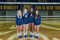Berkeley, CA - Monday August 9, 2016: Cal Volleyball Portraits 2016